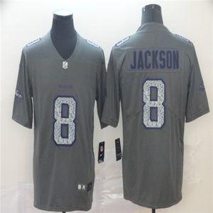 Baltimore Ravens #8 Lamar Jackson Jersey